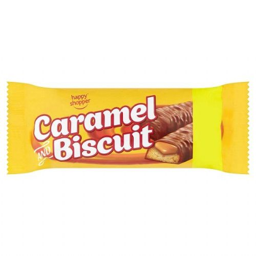 Happy Shopper Caramel and Biscuit 50g (UK)